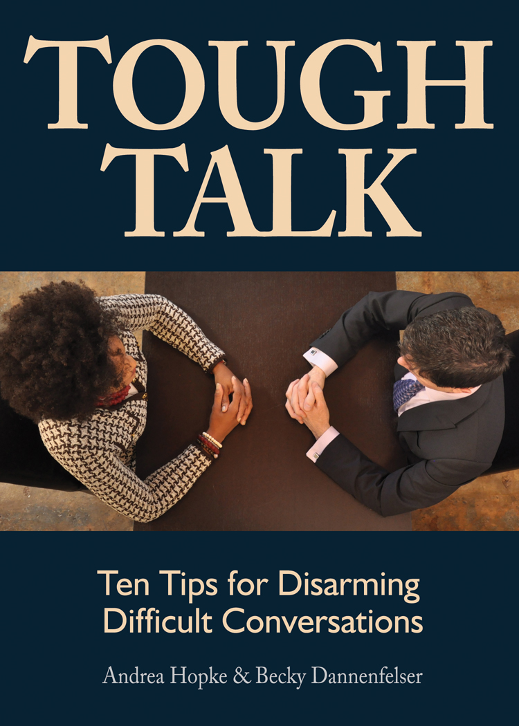clearwater consulting tough talk book